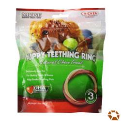 N-Bone Puppy Chicken Teething Ring Treats
