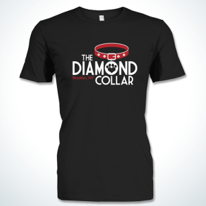 Diamond Collar t shirt