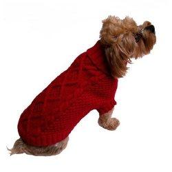 Irish Knit Dog Sweaters