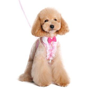 Dogo EasyGO Pink Ruffle Harness