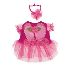 pink Flower Fairy Dog Costumes