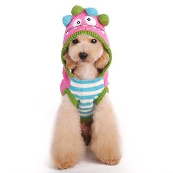 Funny pink Monster Dog Sweater