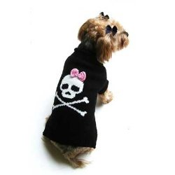 Jolly Roger for Girl Dogs Sweater