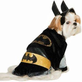Rubies Deluxe Batman dog costumes