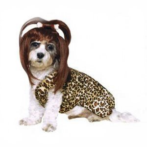 Rubies Cave Girl Dog Costume