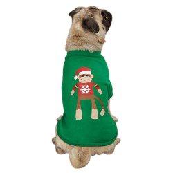 monkey holiday dog tank