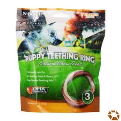 N-Bone Puppy Pumpkin Teething Ring Treats
