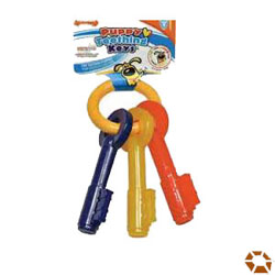 puppy teething keys