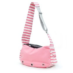 soft pink sling dog carrier