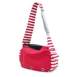 Dogo Red Sling Canvas Dog Carrier