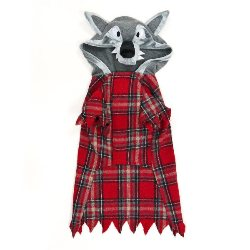 Dog Werewolf Plaid Hoodie