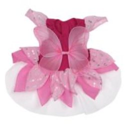 Pink Fairy girl dog costume
