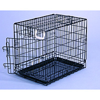 Wire Dog Crates, Wire Folding Dog Crates - General Cage, Midwest