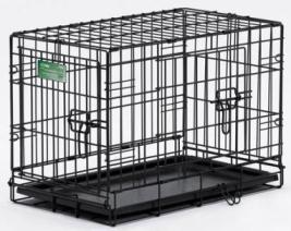 MidWest Double Door Dog Crate 30x19x21
