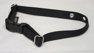 Black Replacement Nylon Dog Collar