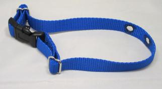 Blue Nylon Replacement Dog Collar