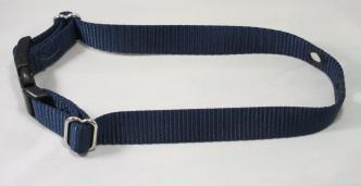 Navy Blue Nylon Dog Replacement Collar