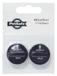 PetSafe 6 volt battery RFA-67D-11
