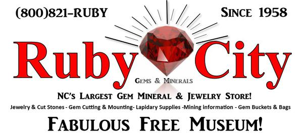 Ruby City Gems - N C 's largest and most complete gem