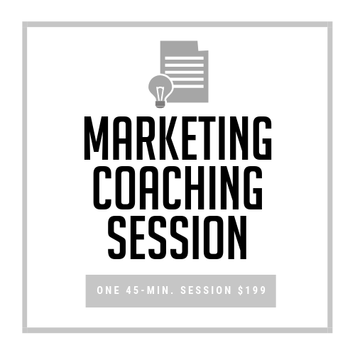 45-minute Private Coaching Session, $199