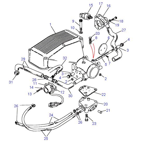 rover v8 3 9 wiring diagram land rover discovery 3 trailer wiring diagram land rover parts - plenum hoses - 3.5 & 3.9 v8 (stepper ...