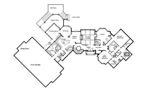 Drafting Services CAD Building Plans Architectural Engineering – Custom Dream House Floor Plans