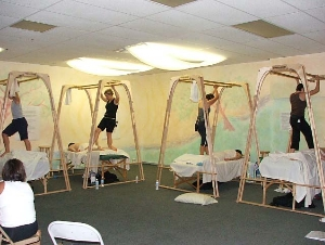 Ashiatsu training portable bars