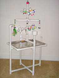 """Kitchen Sink"" Conversion PlayGym for Large Birds"