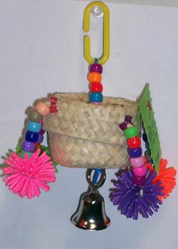Mollys Bird Toys Spinner