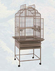 HQ Victorian style open top bird cage