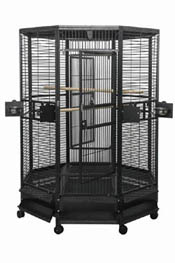 A & E Large Octagon shaped bird cage