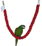 Pet Vision SisalPerch-Swing for medium size and large birds