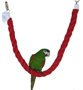 Pet Vision Sisal Perch-Swing for medium and large birds