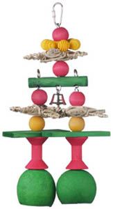 Super Bird Creations Jingle Bells bird toy