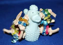 Brainy Bird Toys Knotty Poodles