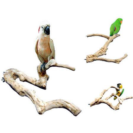Java Wood Multi-branch Perches