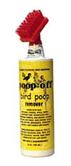 Poop-off for Birds 16 oz. with brush head
