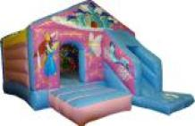 Princess bouncy castle with front slide Chelmsford