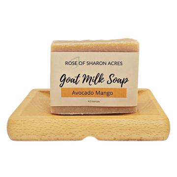 Avocado  Honey Goat Milk Soap