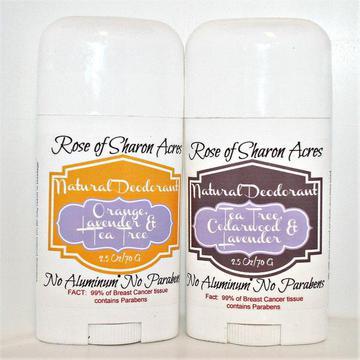 Paraben Free Deodorant