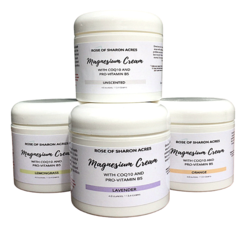 Transdermal Magnesium Cream with Black Cumin Seed Oil
