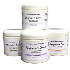 Transdermal Magnesium Cream with Black Cumin Seed Oil