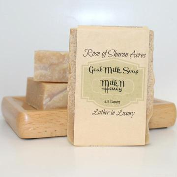 Milk Honey Goat milk soap
