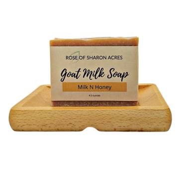 Milk Honey Goat milk soap