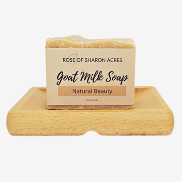 Dead Sea Salt Goat Milk Soap Palm Free