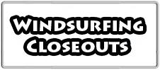 Windsurfing Closeouts