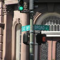 IMAGE: East Bay Street and Broad