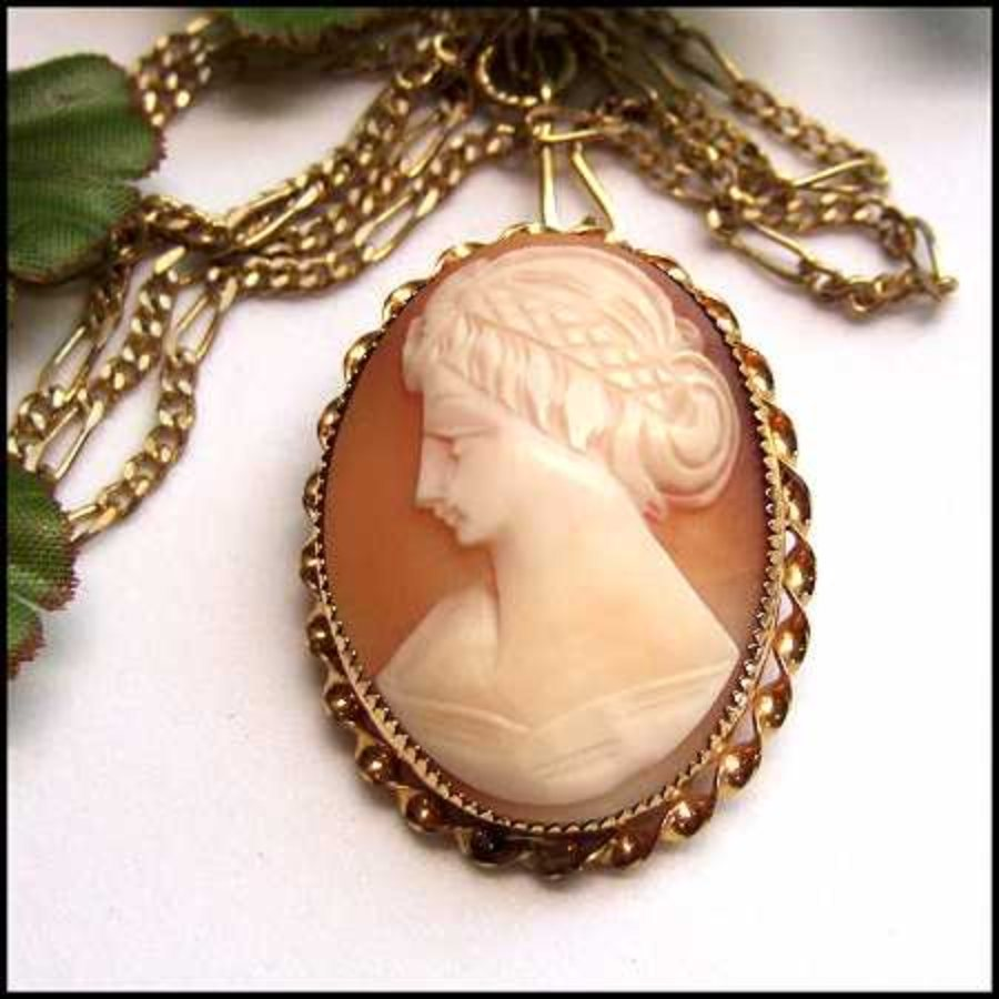 Antique cameo brooch or pendant 12kt gold carved sardonyx 1920s jewelry antique cameo brooch or pendant 12kt gold carved sardonyx 1920s jewelry 13697 aloadofball Images