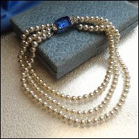 vintage pearl necklace,cultured pearl necklace