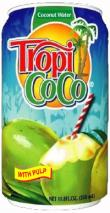 tropi coco coconut water with pulp
